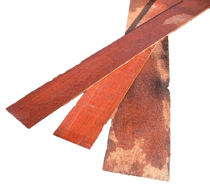 Azobe strip 3,00m - 10cm H - 1 cm B
