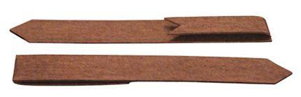 Col-met eindverbindingsclip 30,5cm Corten