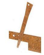Col-met verankeringspennen 30,5cm Corten